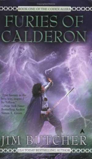 fantasy books Jim Butcher's Furies of Calderon
